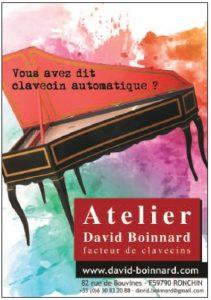 BOINNARD David (facteur de clavecin)